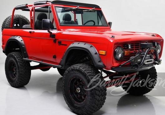 Na aukciji Ford Bronco koji je pripadao glumcu Kevinu Hartu