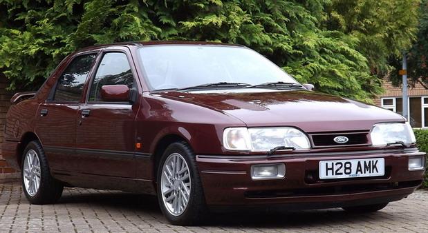 Na aukciji prodati Ford Sierra Cosworth i Ford Escort RS1600