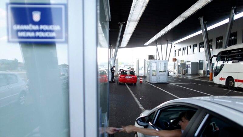 Na granici Slovenije i Hrvatske policajci iz Estonije, Litvanije i Poljske