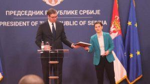 """Na konferenciji """"Svet posle virusa korona"""" učestvuju Vučić i Brnabić"""
