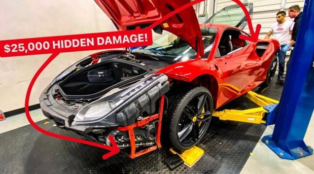 Na neviđeno kupio polovni Ferrari i prilikom rastavljanja otkrio 25.000 dolara skrivene štete