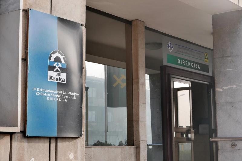 Na pomolu obustava rada u Rudniku Kreka