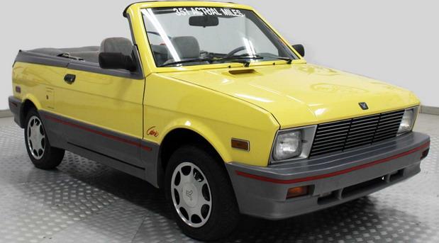 Na prodaju 1990 Yugo Cabrio sa samo 595 km
