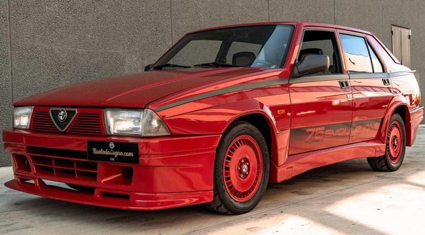 Na prodaju Alfa Romeo 75 Turbo Evoluzione
