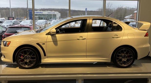 Na prodaju jedan od poslednjih proizvedenih Mitsubishija Lancera EVO