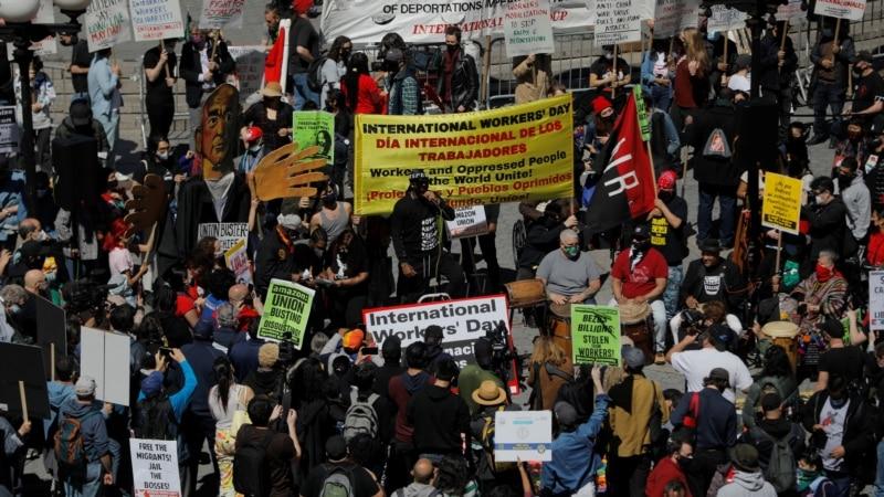 Na protestima 1. maja zatražena veća zaštita za radnike