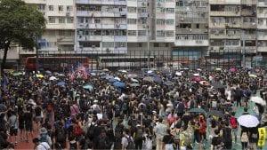 Na protestu u Hongkongu 1,7 miliona ljudi, tvrde organizatori