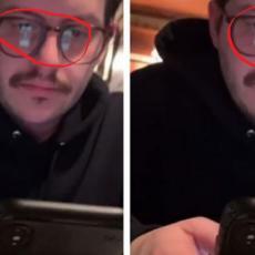 Na prvom sastanku, u odrazu njegovih naočara videla je šta gleda na telefonu - život joj se SMUČIO! (FOTO)