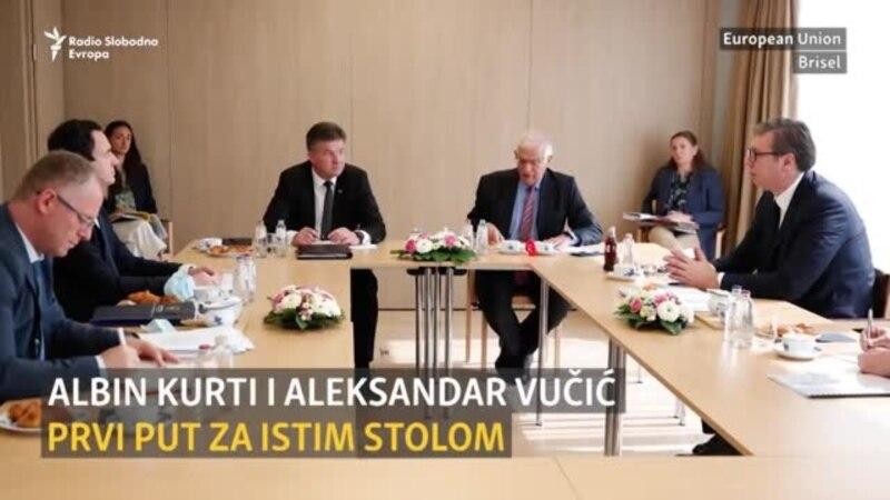 Na prvom susretu Kurti i Vučić zakazali naredni