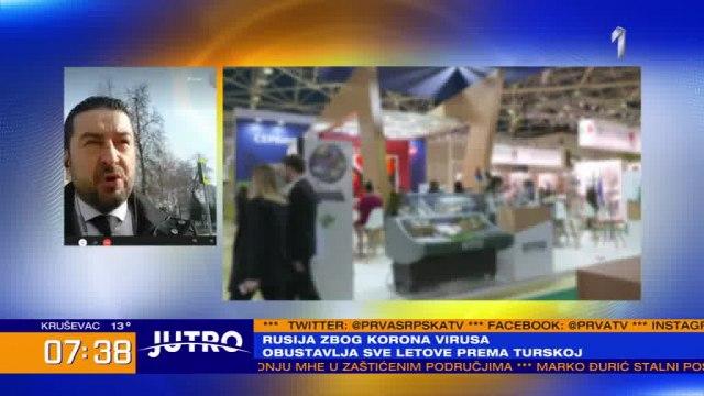 Na sajmu u Moskvi 11 srpskih kompanija VIDEO