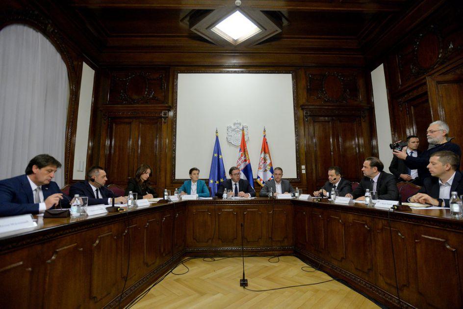 Na sednici i o etnički motivisanim napadima na Srbe...