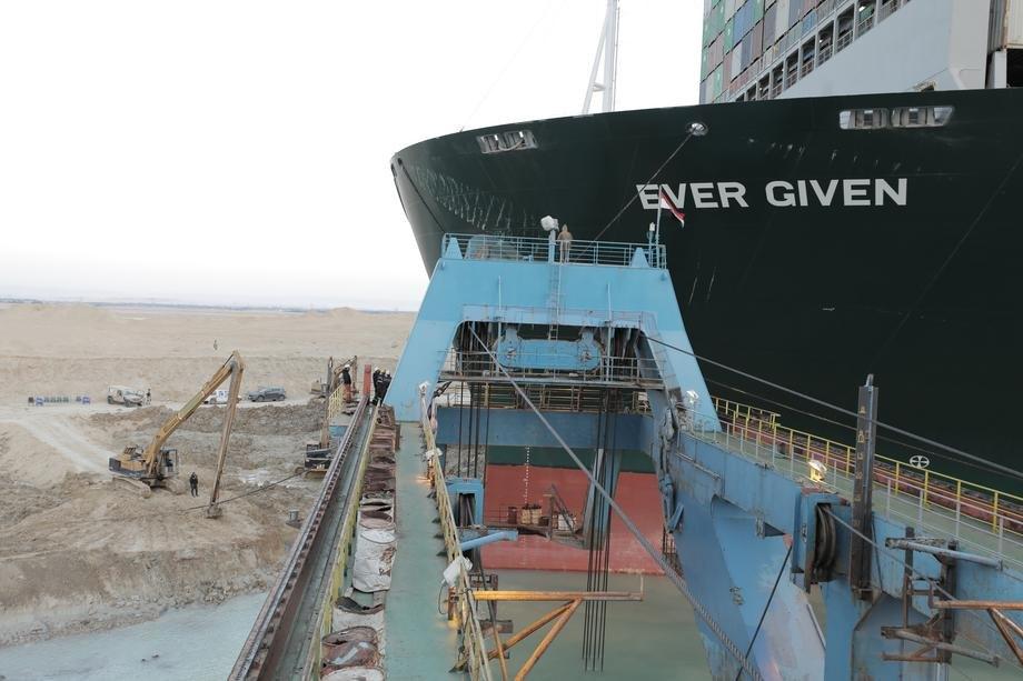 Na stolu nova ponuda za odštetu Sueckom kanalu zbog blokade