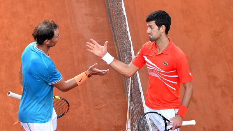 Nadal na prvom mestu na ATP listi, Đoković drugi