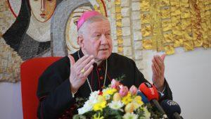 Nadbiskup Hočevar služi misu za sve nastradale u poplavama u Zapadnoj Evropi