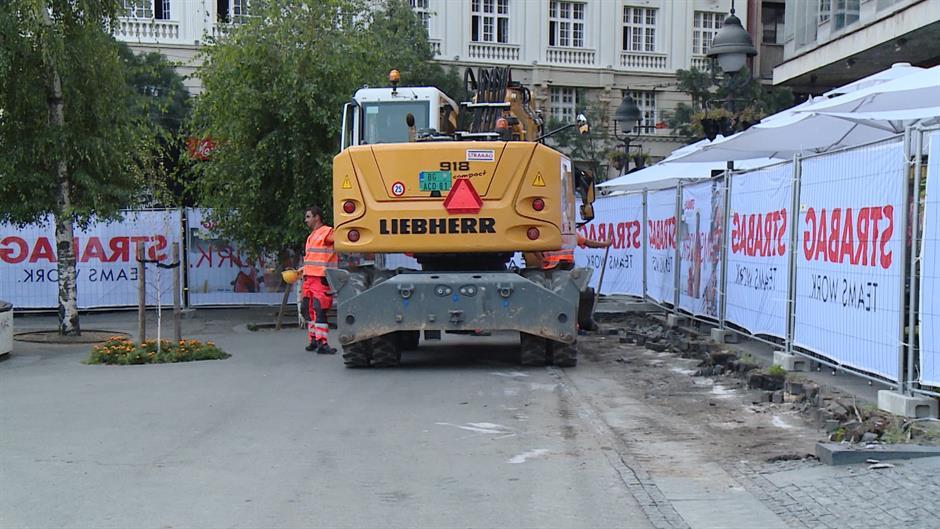 Nađene zidine Stambol kapije na Trgu, izmena rekonstrukcije