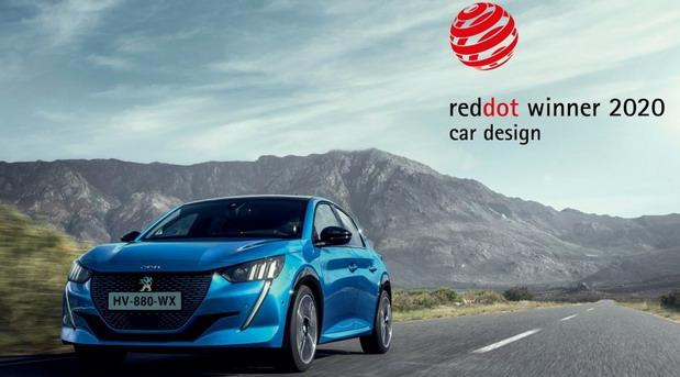 Nagrada Red Dot 2020 za novi Peugeot 208 i 2008