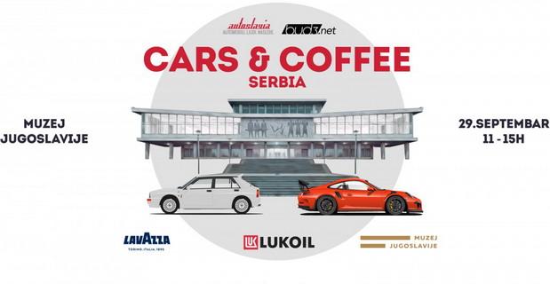 Najava za Cars & Coffee Serbia – 29. septembar, Muzej Jugoslavije