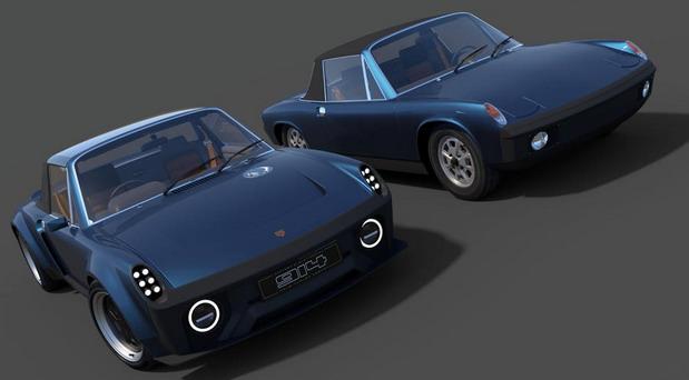 Najavljen moderni Porsche 914
