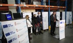 Najavljen početak distribucije tableta i laptopova u okviru projekta Ministarstva, UNICEF-a i ...
