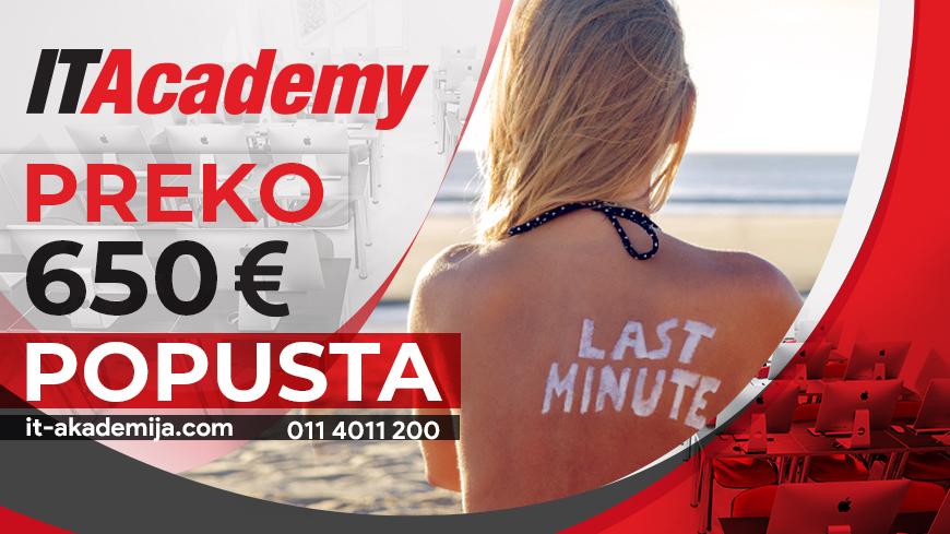 Najbolja letnja LAST MINUTE akcija uštedeće vam preko 650 €