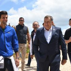 Najbolji teniser sveta Novak Đoković posetio Jahorinu