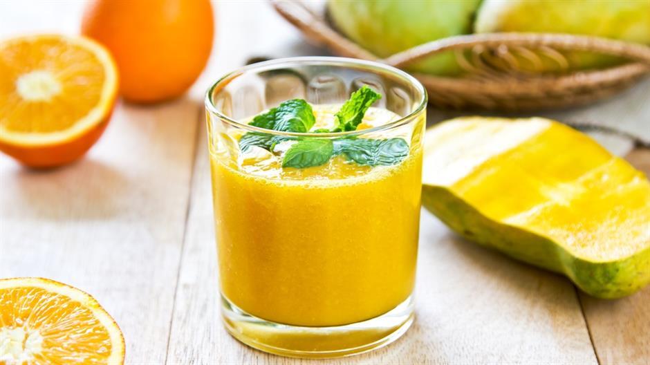 Najbolji žuti smoothie