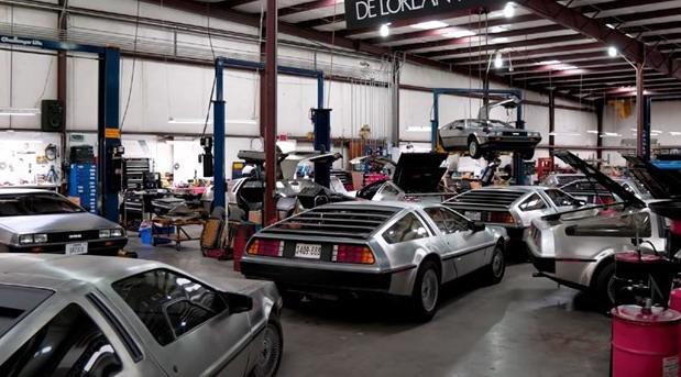 Najslavniji filmski auto se vratio: Ovo je fabrika DeLoreana