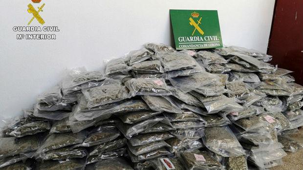 Najveća zaplena marihuane u Španiji