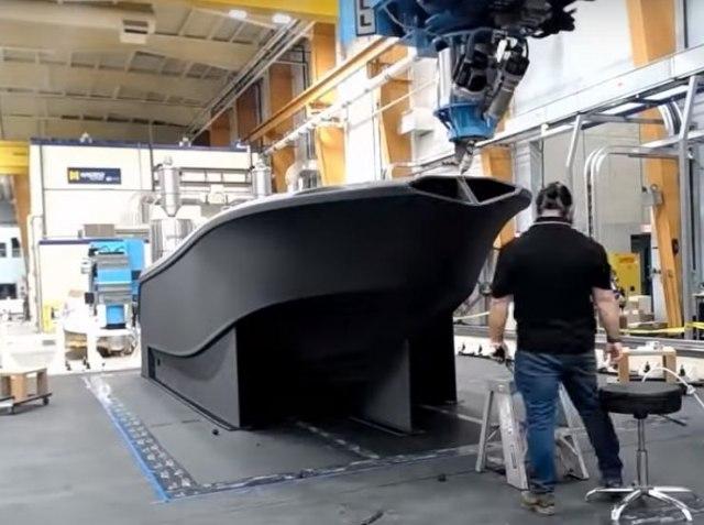 Najveći 3D štampač na svetu odštampao najveći odštampani 3D brod VIDEO