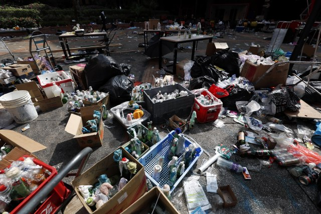 Nakon opsade, Hongkonški univerzitet izgleda neprepoznatljivo FOTO
