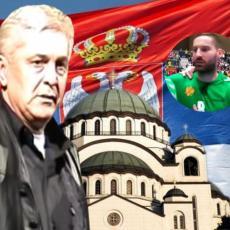 Nakon optužbi da je IZDAO OCA, u suzama se oglasio SIN DANILA LAZOVIĆA: Ja sam Srbin koji igra za Crnu Goru!