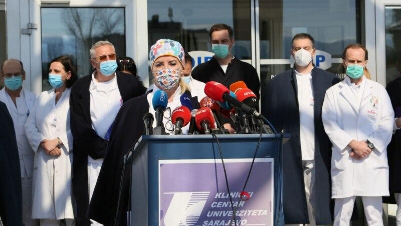 Nakon najave tužbe Klinički centar Sarajevo dao dokumente o preminulom COVID pacijentu