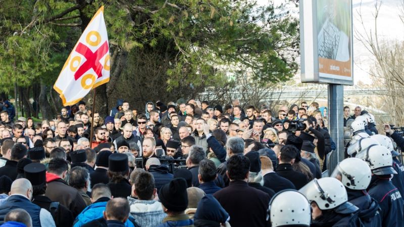 Nakon protesta na Cetinju, Mitropolija odustala od litije u tom gradu