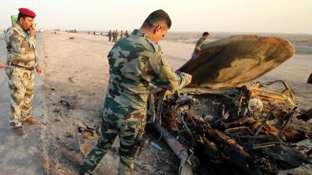 Napad na kontrolni punkt u Iraku, osmoro poginulih