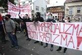 Napeto u Beogradu: Žandarmerija, desničari, levičari; Povod - migranti FOTO