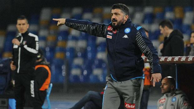 Napoli poražen na debiju Gatuza
