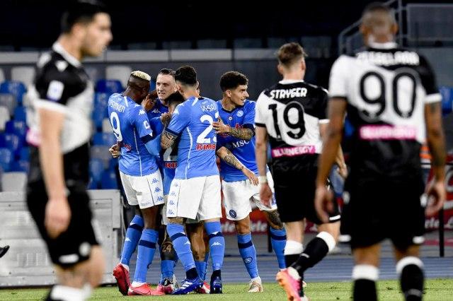 Napoli zakoračio u Ligu šampiona VIDEO