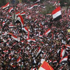 Napolje okupatori, ori se Bagdadom: Velike antiameričke demonstracije u Iraku (VIDEO)