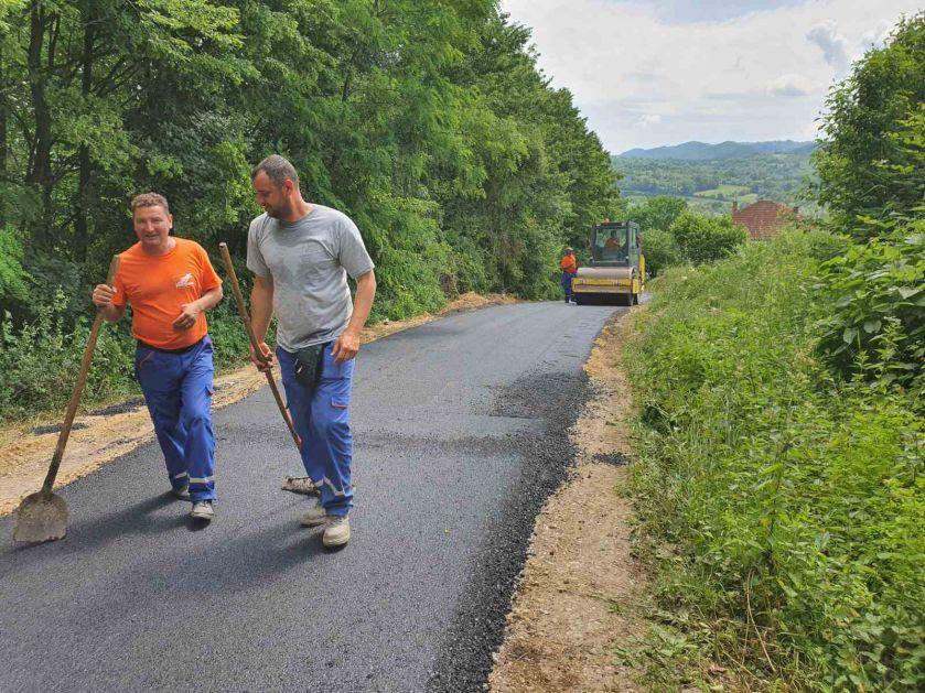 Naporima Vlade, ministarstva i Puteva RS asfaltirano 300 metara puta