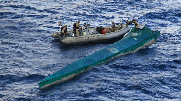 Narko-podmornica presretnuta na Pacifiku, pronađena 1,5 tona kokaina