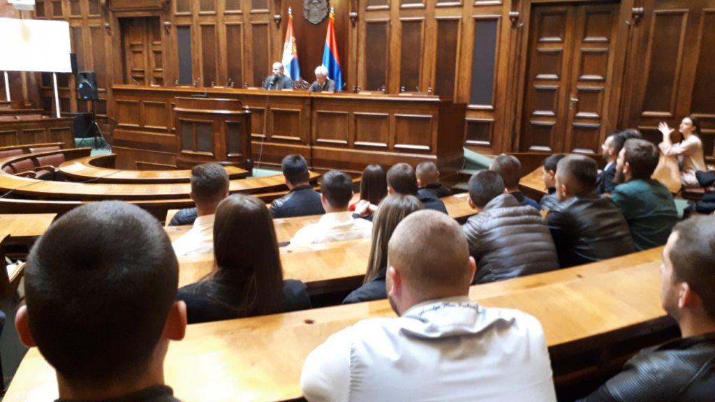 Narodni poslanik Muamer Zukorlić primio studente Internacionalnog univerziteta u Skupštini Srbije