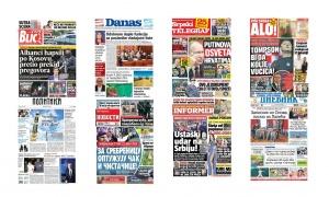 Naslovne strane dnevnih listova: Prelistavanje štampe za 11. jul 2018. godine!