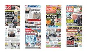 Naslovne strane dnevnih listova: Prelistavanje štampe za 17. april 2018. godine!