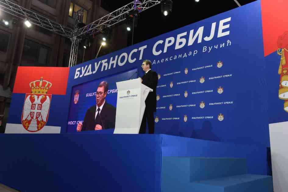 Vučić: Nećemo dozvoliti nikome da napadne naš narod