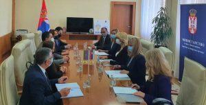 Nastavak pregovora o zaključenju Sporazuma o socijalnoj sigurnosti Srbije i Azerbejdžana
