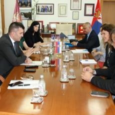 Nastavak saradnje Ministarstva i UNOPS-a  na projektu Osnaživanje centara za socijalni rad na teritoriji Republike Srbije