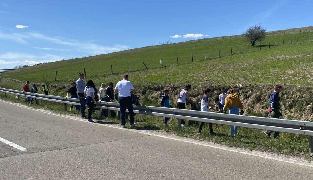 Nastavlja se akcija prolećnog čišćenja na teritoriji opštine Sjenica