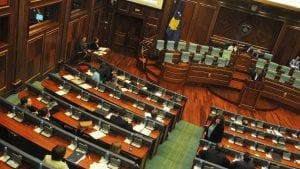 Nastavlja se sednica Skupštine Kosova, prva tačka zaštita OVK