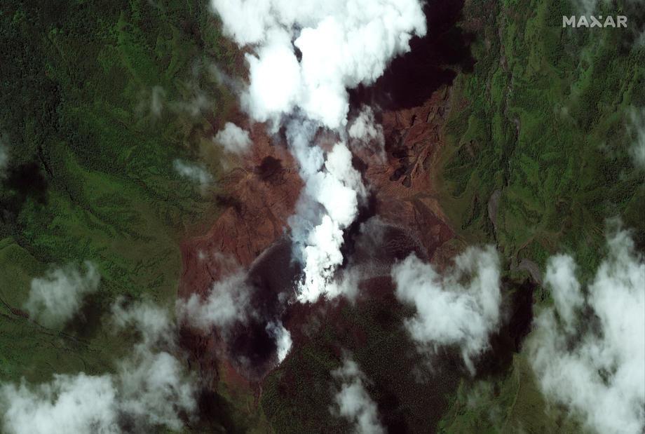 Nastavljaju se erupcije karipskog vulkana La Sufrier