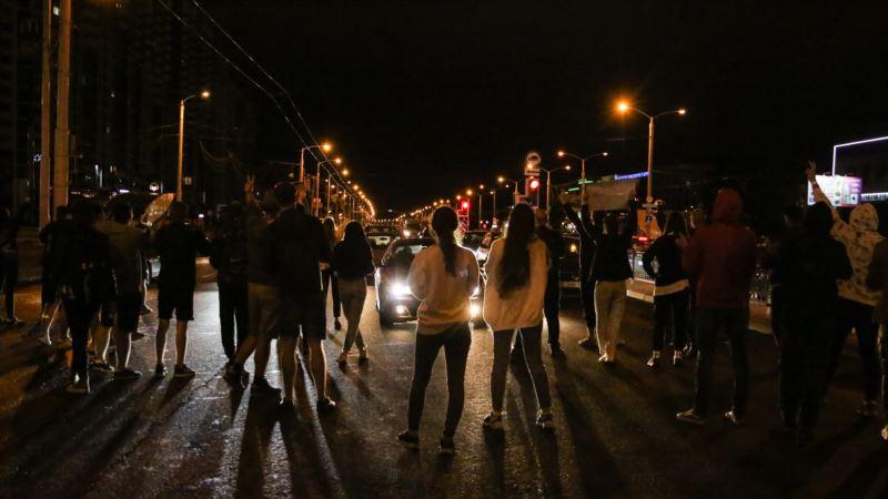 Nastavljeni protesti na ulicama Minska i drugih gradova Belorusije